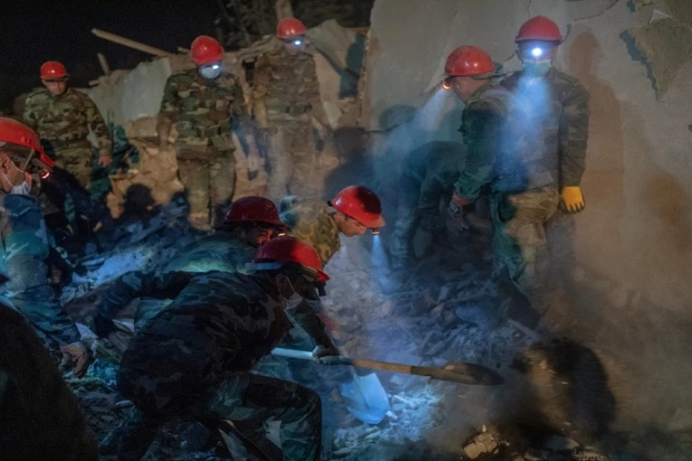 12 Civilians in Ganja,Azerbaijan Were Killed by Armenian Attack