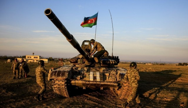 Azerbaijan Is Continuing Its Operations to Free Nagorno-Karabakh Occupied by Armenia